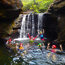 Pinaisara Waterfall Basin & Canyoning Set Tour