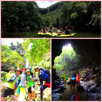 Pinaisara Waterfall Basin & Caving Set Tour